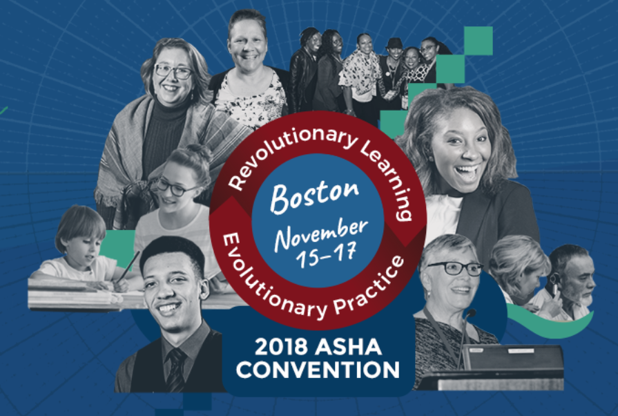 2018 ASHA Convention in Boston, MA