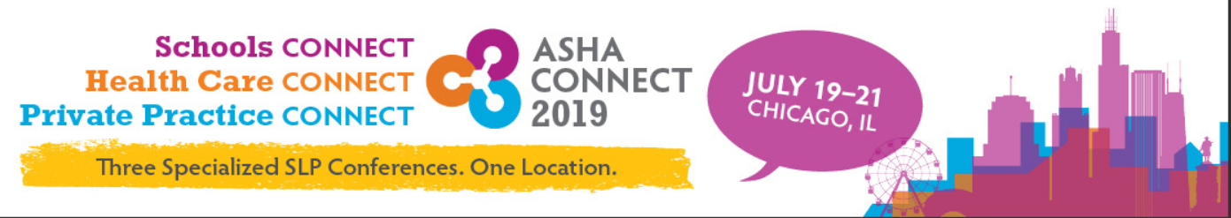 Speaking at ASHA's 2019  Schools CONNECT