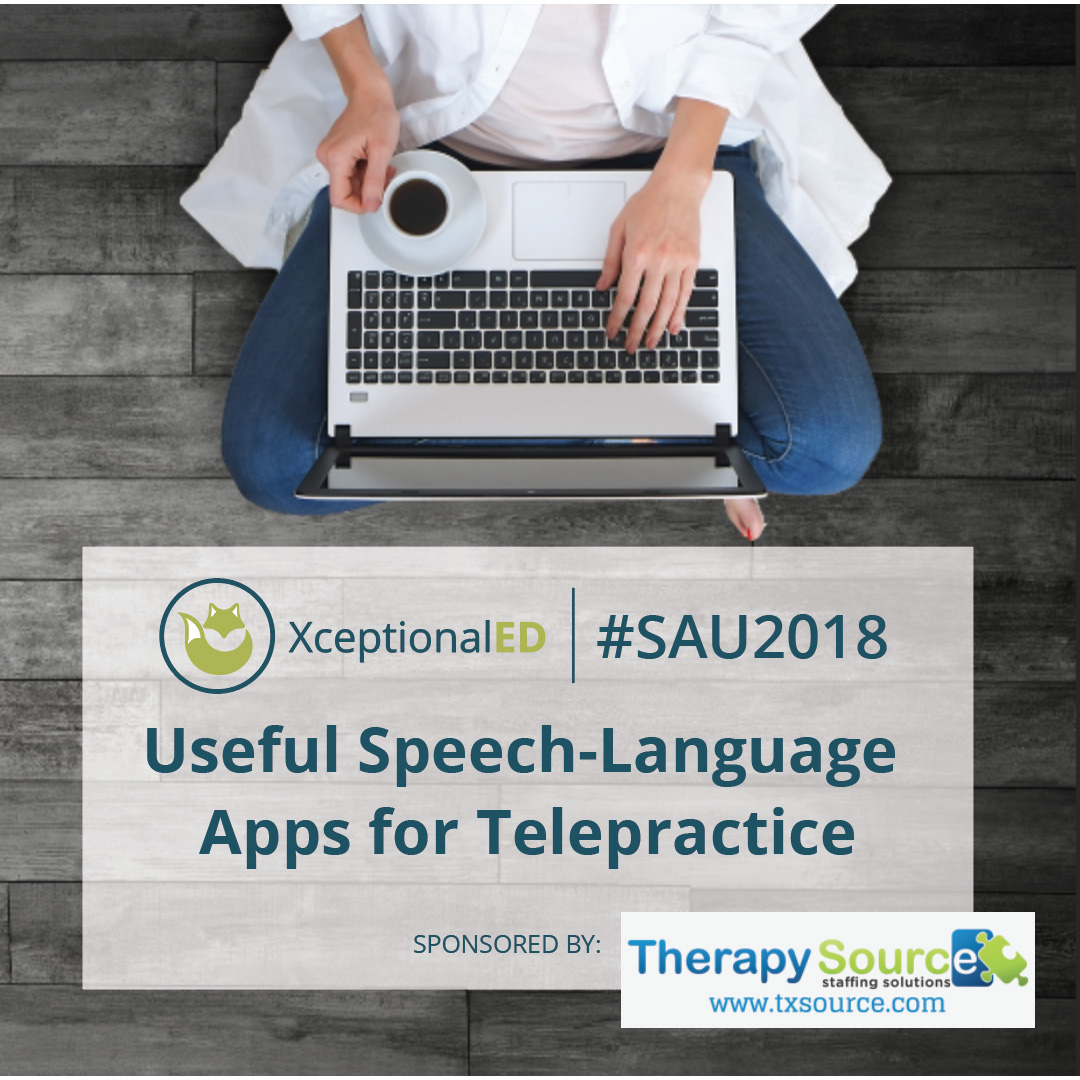 Useful Speech-Language Apps for Telepractice – $25